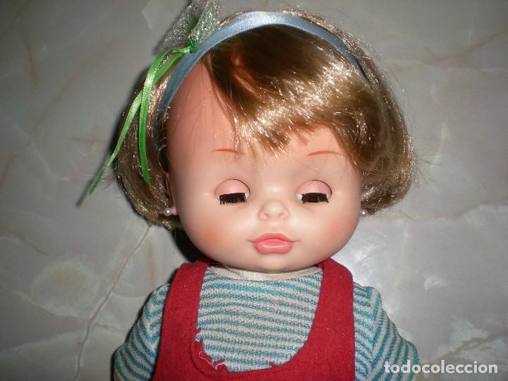 Otras Muñecas de Famosa: bonita muñeca nora de famosa años 70 pelo corto y color cerveza de origen en muy buen estado 48 cm - Foto 7 - 114296507