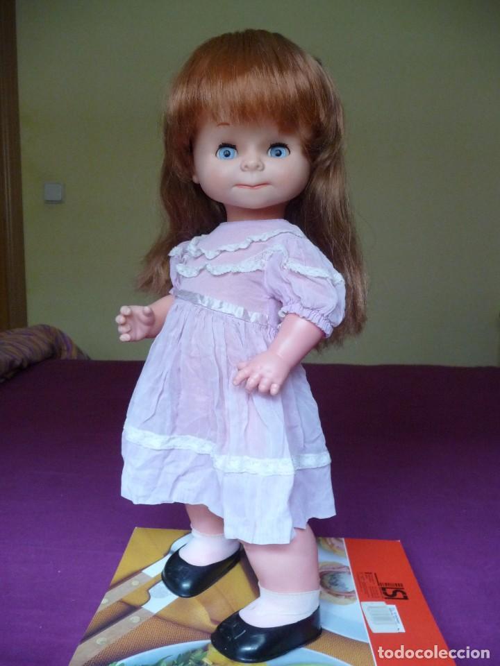 MUÑECA GRACIOSA DE FAMOSA PELIRROJA OJOS AZUL MARGARITA MUY DIFICIL (Juguetes - Muñeca Española Moderna - Otras Muñecas de Famosa)