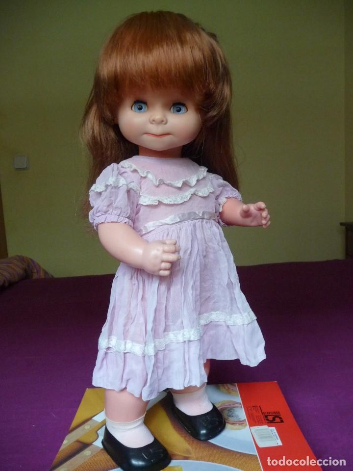 Otras Muñecas de Famosa: Muñeca graciosa de famosa pelirroja ojos azul margarita muy dificil - Foto 21 - 114704923