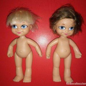 Lote de 2 muñecas FAMOSA 15cm