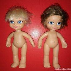 Otras Muñecas de Famosa: LOTE DE 2 MUÑECAS FAMOSA 15CM. Lote 116379083