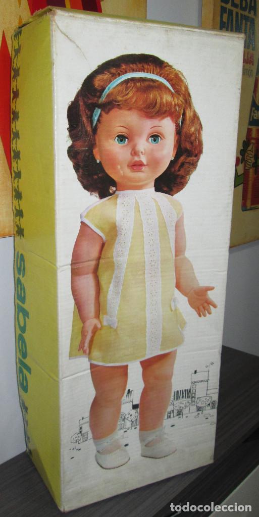 ANTIGUA MUÑECA SABELA HABLADORA, DE FAMOSA, CON CAJA, AÑOS 60 (Juguetes - Muñeca Española Moderna - Otras Muñecas de Famosa)