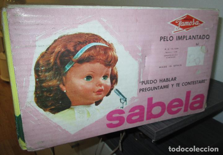 Otras Muñecas de Famosa: Antigua muñeca SABELA HABLADORA, de Famosa, con caja, años 60 - Foto 3 - 116485863