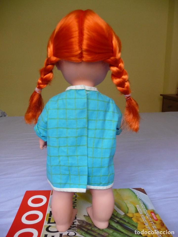 Otras Muñecas de Famosa: Muñeca Chatuca pipi pelirroja ojos azul margarita muy dificil epoca Nancy - Foto 2 - 116730595