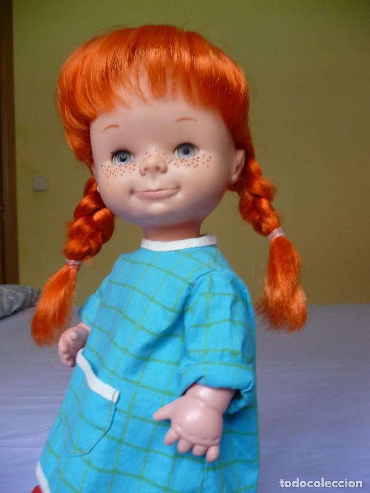 Otras Muñecas de Famosa: Muñeca Chatuca pipi pelirroja ojos azul margarita muy dificil epoca Nancy - Foto 3 - 116730595