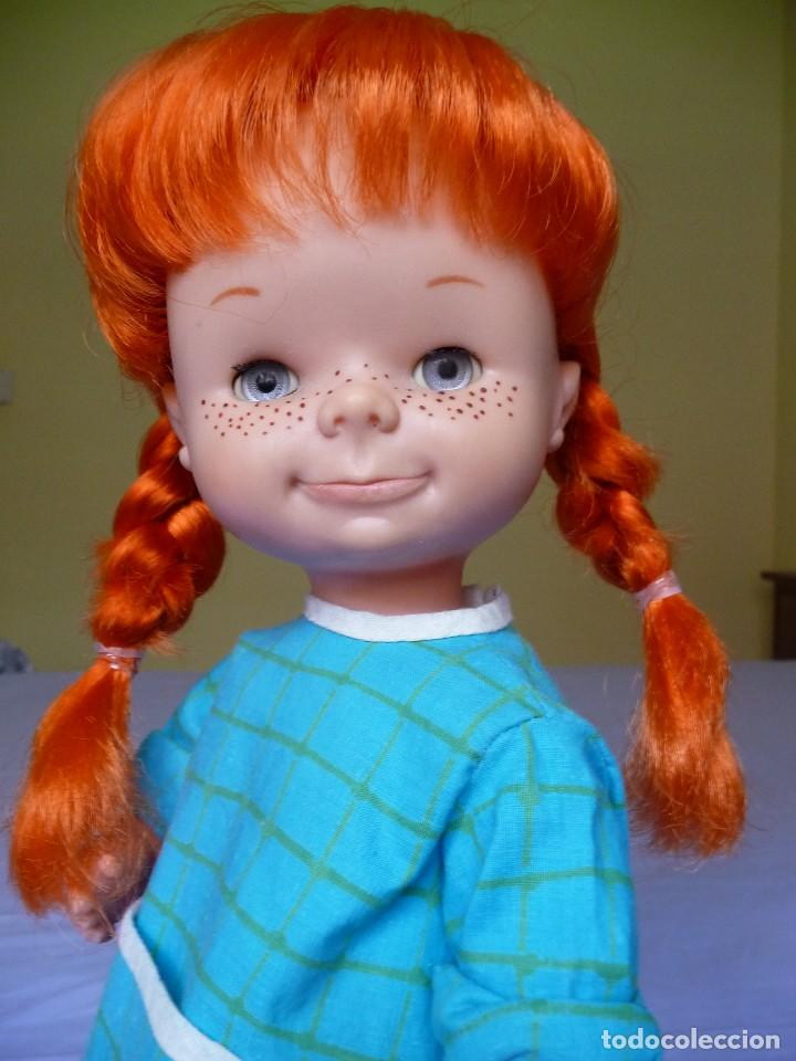Otras Muñecas de Famosa: Muñeca Chatuca pipi pelirroja ojos azul margarita muy dificil epoca Nancy - Foto 4 - 116730595