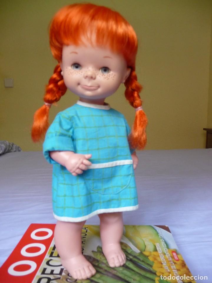Otras Muñecas de Famosa: Muñeca Chatuca pipi pelirroja ojos azul margarita muy dificil epoca Nancy - Foto 6 - 116730595