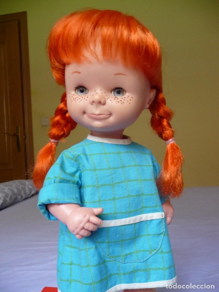 Otras Muñecas de Famosa: Muñeca Chatuca pipi pelirroja ojos azul margarita muy dificil epoca Nancy - Foto 7 - 116730595