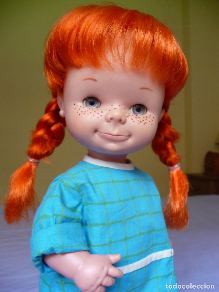 Otras Muñecas de Famosa: Muñeca Chatuca pipi pelirroja ojos azul margarita muy dificil epoca Nancy - Foto 8 - 116730595