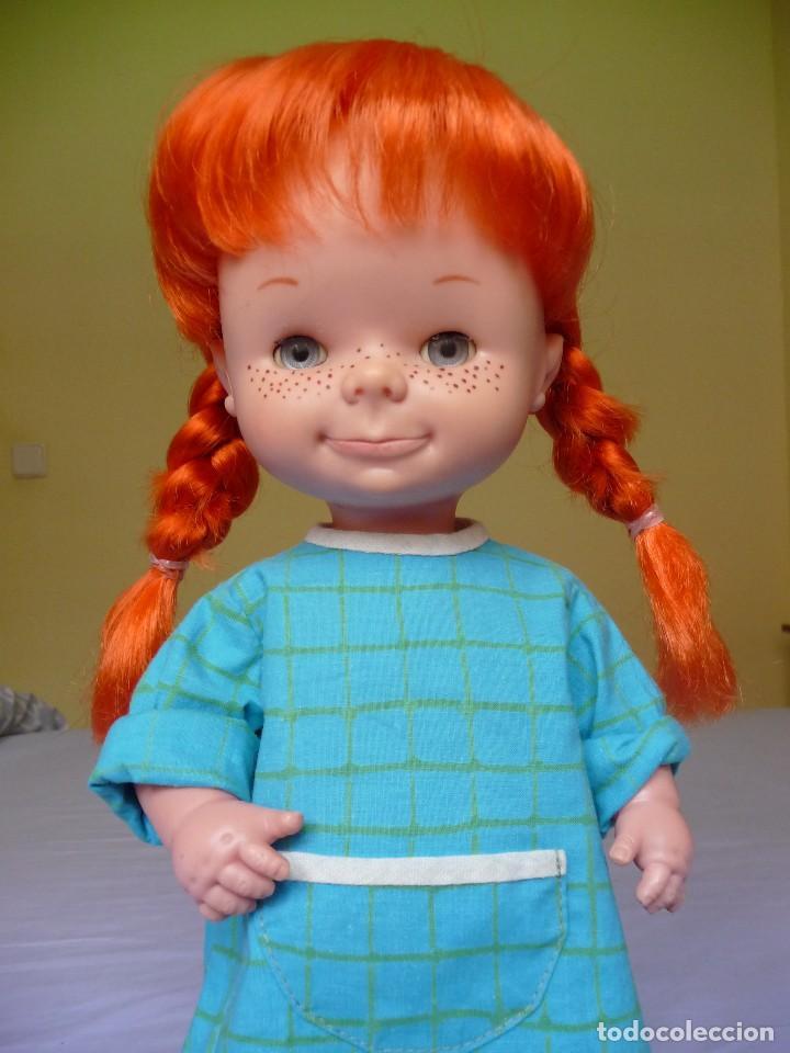 Otras Muñecas de Famosa: Muñeca Chatuca pipi pelirroja ojos azul margarita muy dificil epoca Nancy - Foto 9 - 116730595