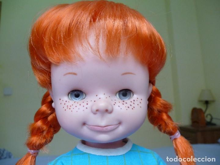Otras Muñecas de Famosa: Muñeca Chatuca pipi pelirroja ojos azul margarita muy dificil epoca Nancy - Foto 10 - 116730595