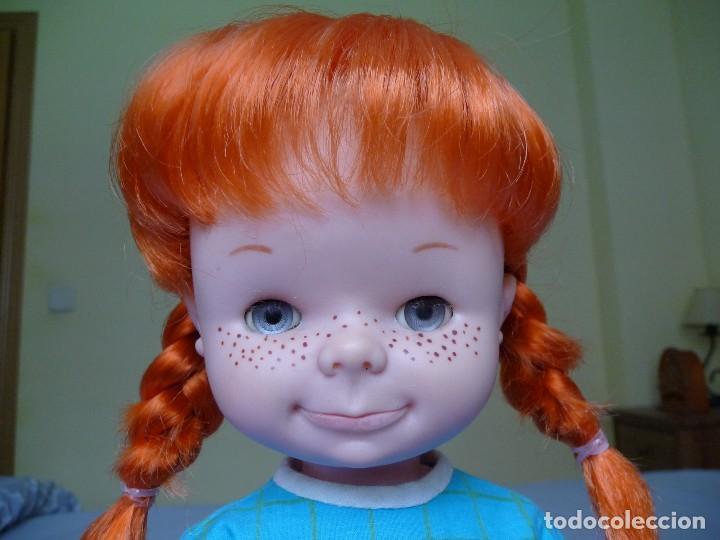 Otras Muñecas de Famosa: Muñeca Chatuca pipi pelirroja ojos azul margarita muy dificil epoca Nancy - Foto 12 - 116730595