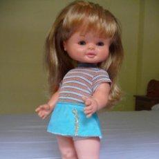 Otras Muñecas de Famosa: MUÑECA MALENI DE FAMOSA OJOS MARGARITA CON ROPA ORIGINAL EPOCA NANCY. Lote 119488115