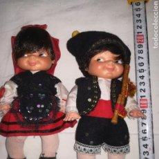 Otras Muñecas de Famosa: PAREJA MUÑECOS REGIONALES DE FAMOSA. Lote 119912562