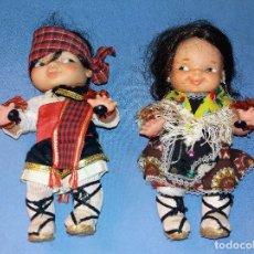 Otras Muñecas de Famosa: PAREJA REGIONAL DE FAMOSA AÑOS 70 EN MUY BUEN ESTADO DE CONSERVACION. Lote 120321099