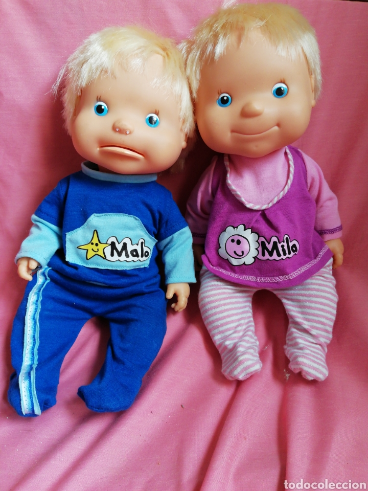 MILA Y MALO (Juguetes - Muñeca Española Moderna - Otras Muñecas de Famosa)