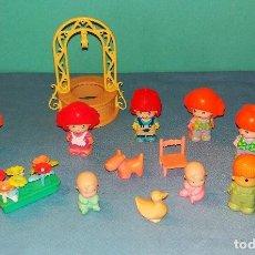 Otras Muñecas de Famosa: LOTE DE PIN Y PON DE FAMOSA ORIGINALES. Lote 125896579