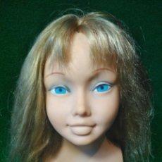 Otras Muñecas de Famosa: FAMOSA-PRECIOSA CABEZA DE MUÑECA VINTAGE 26CM. Lote 126095070
