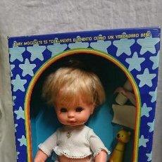 Otras Muñecas de Famosa: ANTIGUA MUÑECA BABY MOCOSETE DE TOYSE EN CAJA ORIGINAL. Lote 127000283