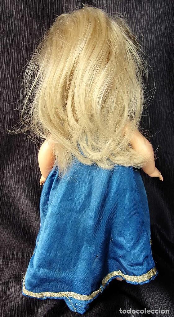 Otras Muñecas de Famosa: ANTIGUA MUÑECA DE PLÁSTICO RÍGIDO. BELLA. FABRICADA EN FRANCIA. AÑOS 60. NO ES NANCY. - Foto 3 - 127905359
