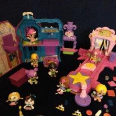 Otras Muñecas de Famosa: LOTE DE MUÑECOS PIN Y PON.PASARELA DE MODA,CASA FANTASMAL Y FIGURAS.TODO ORIGINAL DE FAMOSA. Lote 128789771