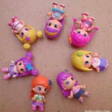 Otras Muñecas de Famosa: LOTE 7 MUÑECAS PINYPON FAMOSA MODERNAS. Lote 130329126