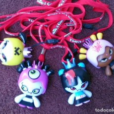 Otras Muñecas de Famosa: LOTE 4 MUÑECAS CHIC-I GIRLS VAMPIRESAS PRINCESA VAMPIRO. Lote 131320478