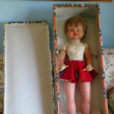 Otras Muñecas de Famosa: MUÑECA GUENDALINA GUENDOLINA FAMOSA ÚLTIMO MODELO DE PLÁSTICO Y GOMA CON CAJA. Lote 132148262
