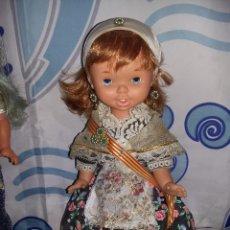 Otras Muñecas de Famosa: RARA MUÑECA FRANCISCA PELIRROJA DE FAMOSA DE REGIONAL CON MUCHOS DETALLES AÑOS 60 FOTOS ABAJO. Lote 132175486