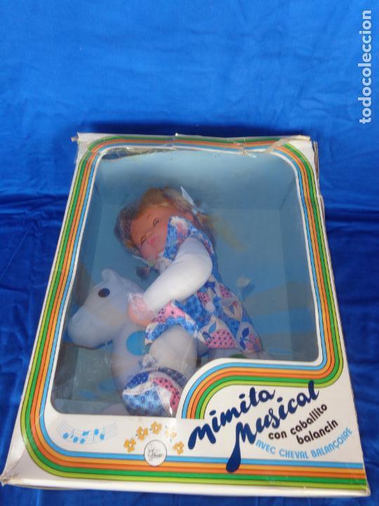 Otras Muñecas de Famosa: MIMITA- MUÑECA MIMITA MUSICAL DE FAMOSA, CON SU CABALLITO BALANCIN, AÑOS 80,VER FOTOS! SM - Foto 2 - 132947458