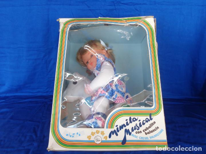 Otras Muñecas de Famosa: MIMITA- MUÑECA MIMITA MUSICAL DE FAMOSA, CON SU CABALLITO BALANCIN, AÑOS 80,VER FOTOS! SM - Foto 5 - 132947458