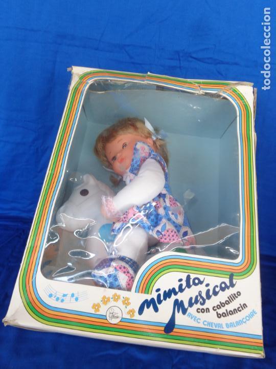Otras Muñecas de Famosa: MIMITA- MUÑECA MIMITA MUSICAL DE FAMOSA, CON SU CABALLITO BALANCIN, AÑOS 80,VER FOTOS! SM - Foto 6 - 132947458
