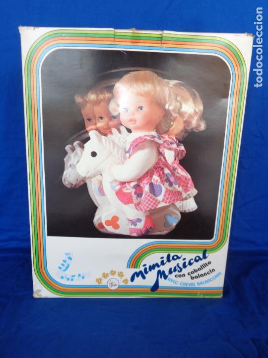 Otras Muñecas de Famosa: MIMITA- MUÑECA MIMITA MUSICAL DE FAMOSA, CON SU CABALLITO BALANCIN, AÑOS 80,VER FOTOS! SM - Foto 8 - 132947458