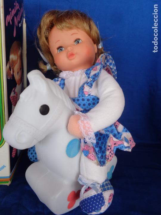 Otras Muñecas de Famosa: MIMITA- MUÑECA MIMITA MUSICAL DE FAMOSA, CON SU CABALLITO BALANCIN, AÑOS 80,VER FOTOS! SM - Foto 15 - 132947458