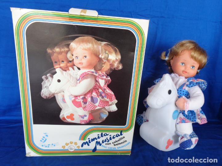 Otras Muñecas de Famosa: MIMITA- MUÑECA MIMITA MUSICAL DE FAMOSA, CON SU CABALLITO BALANCIN, AÑOS 80,VER FOTOS! SM - Foto 27 - 132947458