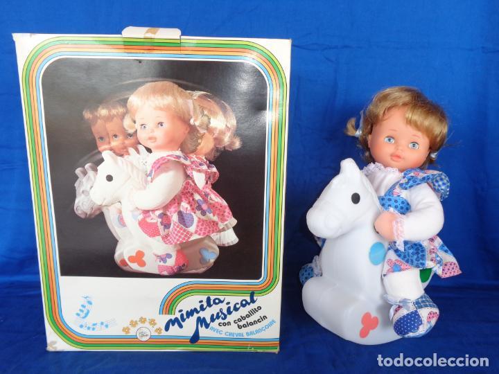 Otras Muñecas de Famosa: MIMITA- MUÑECA MIMITA MUSICAL DE FAMOSA, CON SU CABALLITO BALANCIN, AÑOS 80,VER FOTOS! SM - Foto 30 - 132947458