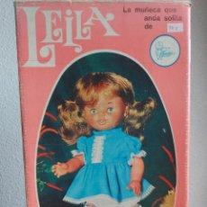 Otras Muñecas de Famosa: CAJA MUÑECA LEILA DE FAMOSA - ENV. PENÍNSULA 9 EUROS CERTIFICADO CORREOS. Lote 134124126