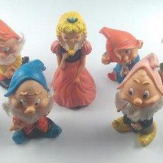 Otras Muñecas de Famosa: BLANCANIEVES Y LOS 7 ENANITOS FAMOSA DISNEY . Lote 134611366