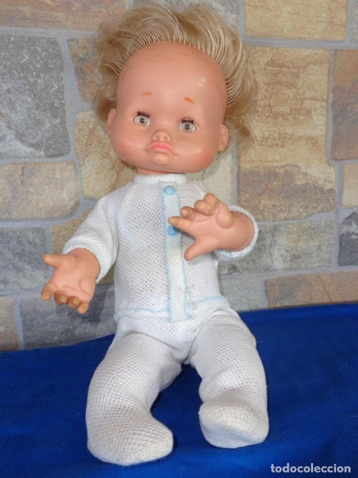 FAMOSIN - ANTIGUO MUÑECO FAMOSIN OJOS IRIS MARGARITA MARRONES VER FOTOS Y DESCRIPCION! SM (Juguetes - Muñeca Española Moderna - Otras Muñecas de Famosa)