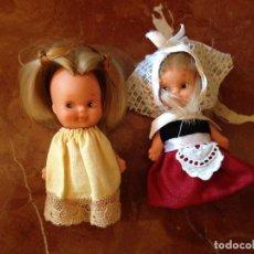 Otras Muñecas de Famosa: MUÑECAS TINTAN DE FAMOSA, VESTIMENTA DE ORIGEN. Lote 135054898