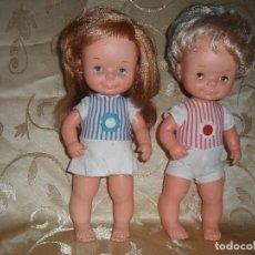 Otras Muñecas de Famosa: CHATÍN Y CHATINA ''HOLANDESES'' PARA LA REVISTA ''ARIADNE''. Lote 135573526