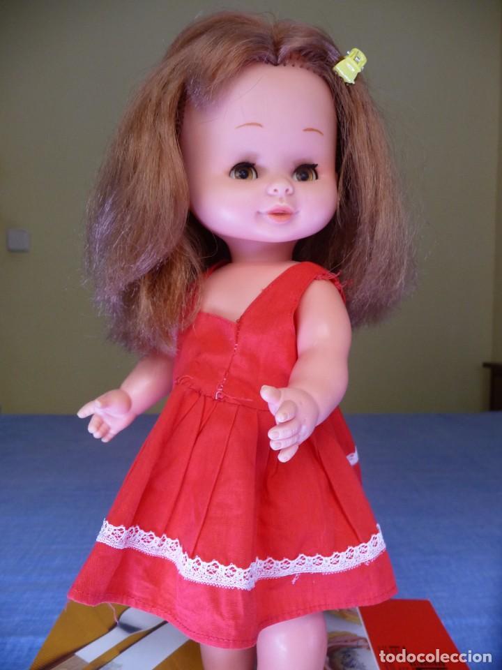MUÑECA MARI LOLI DE FAMOSA PELIRROJA OJOS MARRON MARGARITA EPOCA DE NANCY MARILOLI LEER ANUNCIO (Juguetes - Muñeca Española Moderna - Otras Muñecas de Famosa)