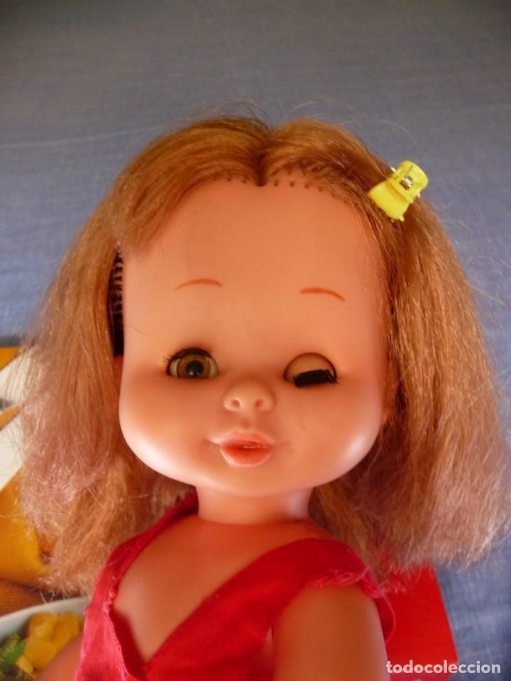 Otras Muñecas de Famosa: Muñeca Mari Loli de famosa pelirroja ojos marron margarita epoca de Nancy Mariloli Leer anuncio - Foto 8 - 136293922