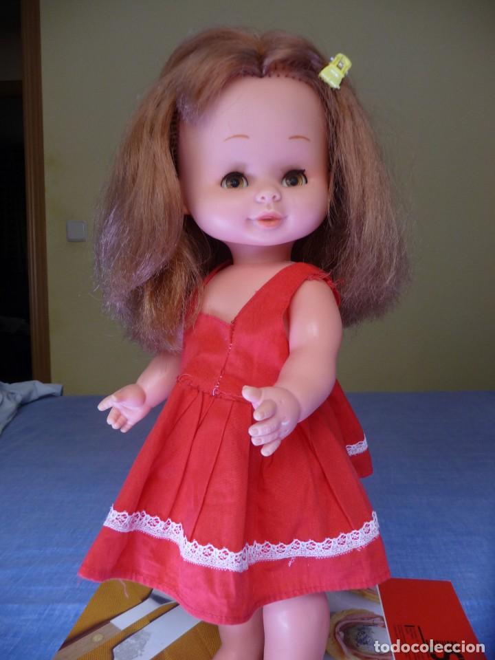 Otras Muñecas de Famosa: Muñeca Mari Loli de famosa pelirroja ojos marron margarita epoca de Nancy Mariloli Leer anuncio - Foto 9 - 136293922