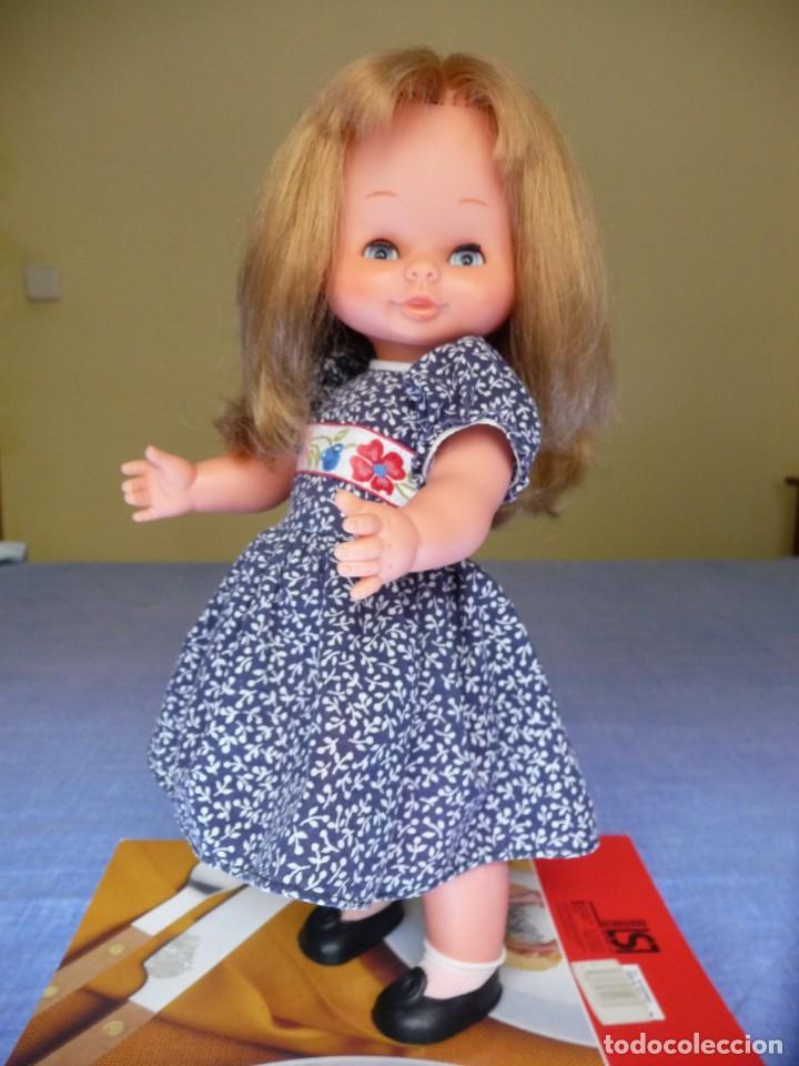 Otras Muñecas de Famosa: Muñeca Mari Loli de famosa rubia cerveza ojos azul margarita epoca de Nancy Mariloli ropa original - Foto 6 - 136294630