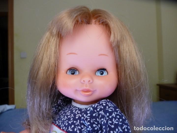 Otras Muñecas de Famosa: Muñeca Mari Loli de famosa rubia cerveza ojos azul margarita epoca de Nancy Mariloli ropa original - Foto 8 - 136294630
