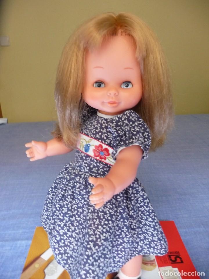 Otras Muñecas de Famosa: Muñeca Mari Loli de famosa rubia cerveza ojos azul margarita epoca de Nancy Mariloli ropa original - Foto 9 - 136294630
