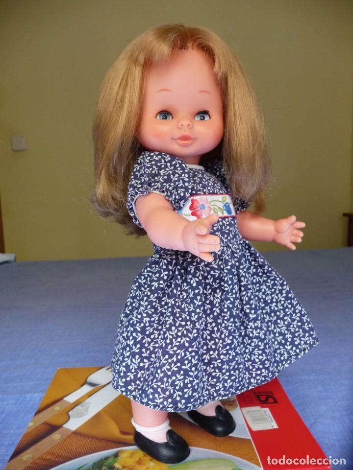Otras Muñecas de Famosa: Muñeca Mari Loli de famosa rubia cerveza ojos azul margarita epoca de Nancy Mariloli ropa original - Foto 10 - 136294630