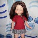 Otras Muñecas de Famosa: PRECIOSA MUÑECA BEGOÑA DE FAMOSA MORENA AÑOS 60 COMO NUEVA SIN USO BRAZOS UNIDOS CON GOMAS. Lote 136305602