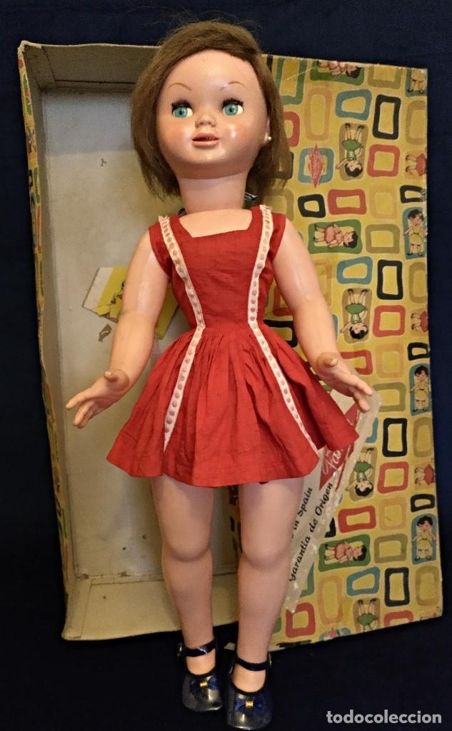 MUÑECA MARISOL DE FAMOSA DE LOS 50,TAMAÑO GRANDE (Juguetes - Muñeca Española Moderna - Otras Muñecas de Famosa)